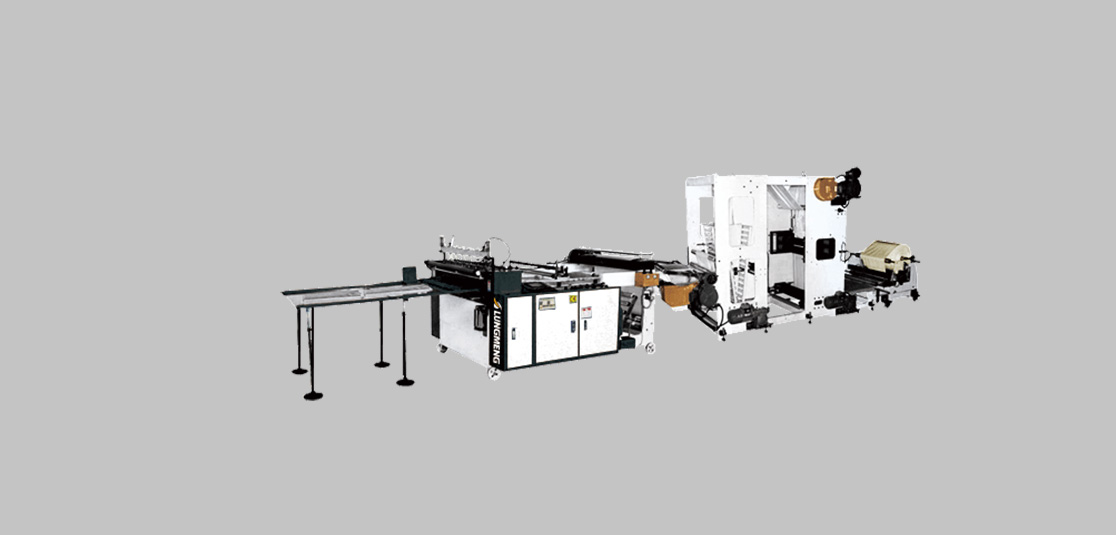 Heavy Duty Bag Making Machine with Embossing in Line System