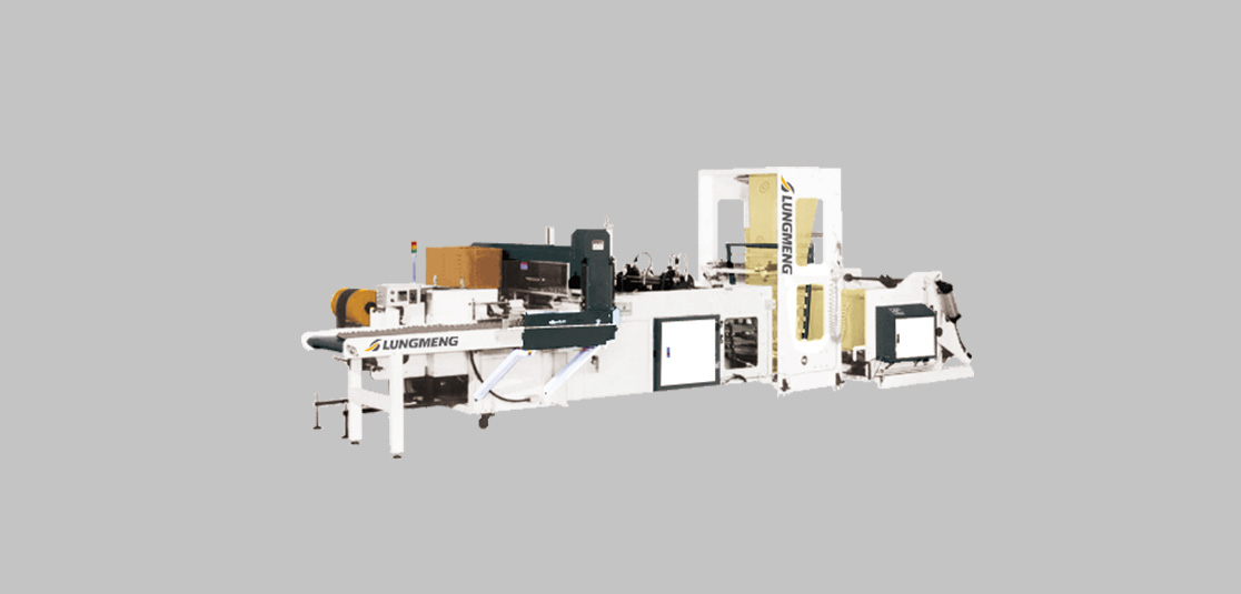 Fully Automatic Bottom Seal Soft Loop Shopping Bag Making Machine