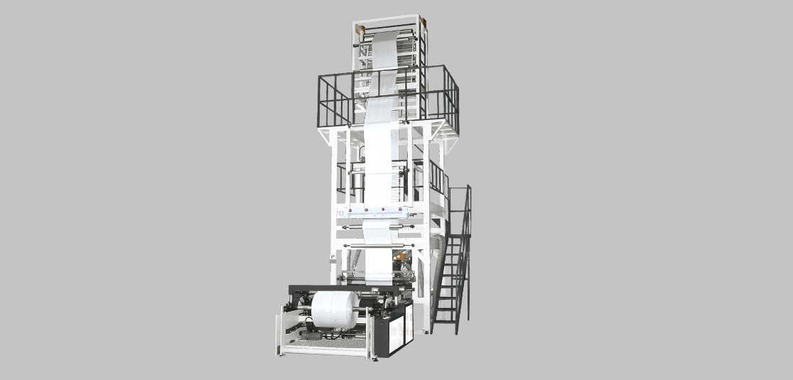 3-Layer ABA Co-Extrusion Blown Film Machine