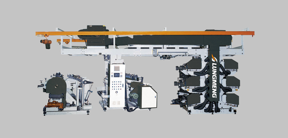 High Speed Six Color Flexographic Printing Machine